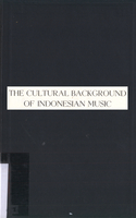 The cultural background of Indonesian music
