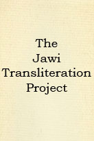 The Jawi Transliteration Project