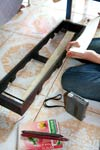 Tool used for palm leaf manuscripts - Wat Prek Prang