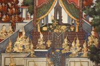 Digital Archive of Buddhist Mural and Cloth Paintings in Thailand