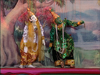 Burmese Marionettes (Part 10) - The Last Program, a Piece of Ramayana Story