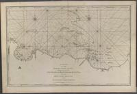 chart of the north coast of Java wherein are described the roads of Bantam and Batavia